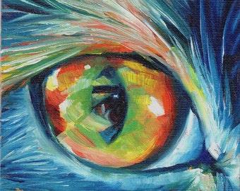 Cat Eye Painting