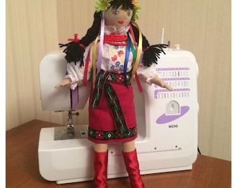 "Ukrainian doll ""Galya"" - Souvenir from Ukraine - Ukrainian girl in National Costume- very cute and beautiful"