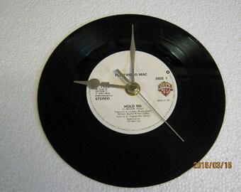 """Fleetwood Mac - """"Hold Me"""" Record Clock"""