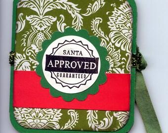 Christmas Card - Tea Bag Card