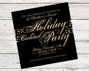 Cocktail party invitations Etsy