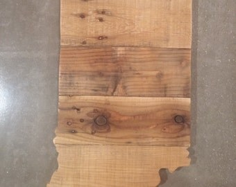 Reclaimed Pallet Wooden Indiana Sign