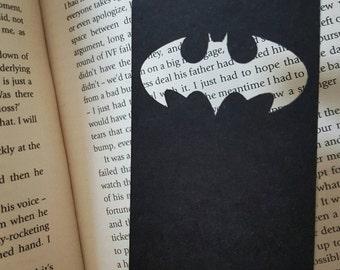 Batman lasercut bookmark