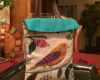 Bird Keepsake Bag