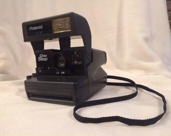 Polaroid OneStep with flash
