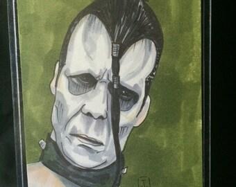 Misfits Doyle Von Frankenstein drawing ATC