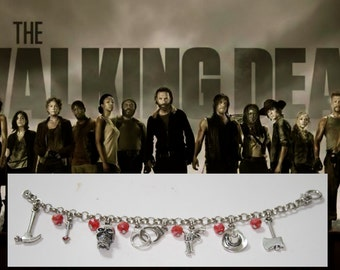 Bracelet inspired by the  Tv series The walking dead