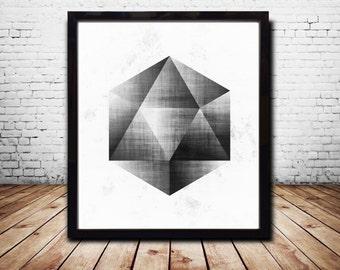 Black Sacred Geometry Print Sacred Geometry Art Sacred Geometry Posters