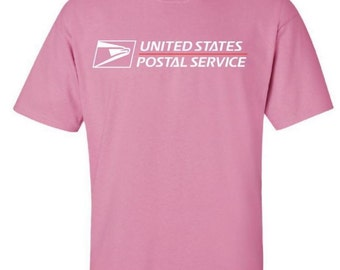 USPS t-shirt brand new Pink BUY 2 get 1 FREE promotion!