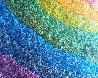 Rainbow Rice {1 Color}: Sensory Bin Activity, Play Time for Toddlers, Dyed, Discovery Learning, Daycare