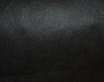 100mtr x 91cm black Liner Coravin Upholstery Soft Fabric Material