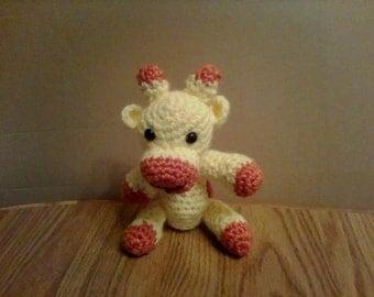 Amigurumi Crocheted Giraffee