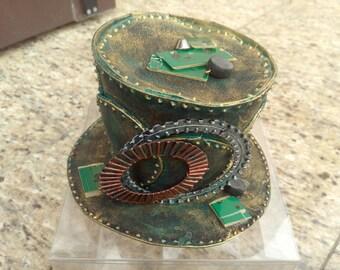 Steampunk Mini Top Hat-Stk008