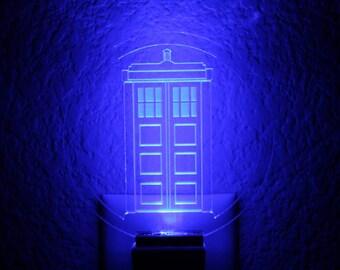 Doctor Who Inspired Tardis Nightlight