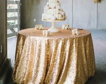 Sequin tablecloth- Glitz tablecloth - Wedding Decor - Sequin wedding linens
