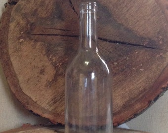 CLEAR Wine Bottle Hurricane