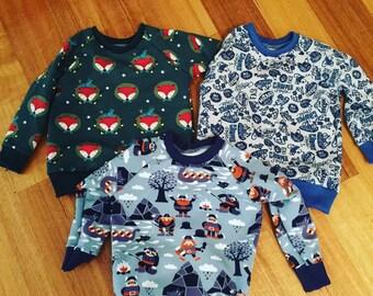 Custom kids Sweater/Jumper sizes 000-4