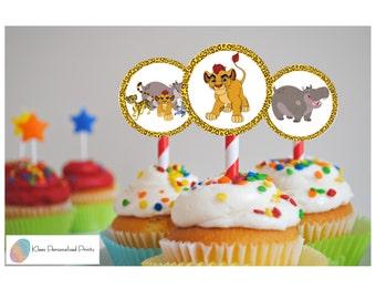 Lion guard cupcake Etsy