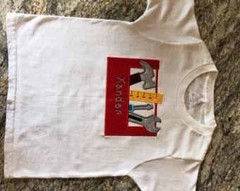Personalized Tool Box Tee Shirt