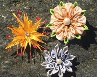 Kanzashi flowers accessories