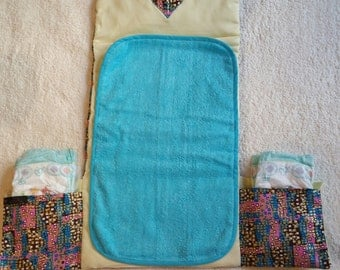 Changing mat nomadic ethnic and chic baby
