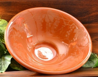 Weller Pottery Bowl, 1920-25 Besline Large Bowl