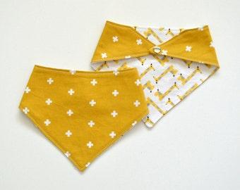 Bandana Bib - Tall Order | Unisex Bandana Bib | Trendy Baby Clothes | Baby Gift | Handmade Bib | Teething | Hipster Style Baby | Drool Bib