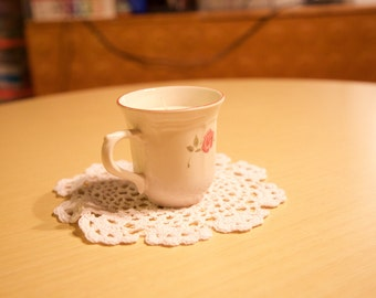 Vintage Floral Teacup Candle