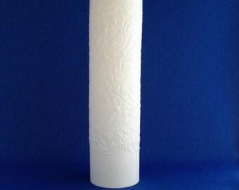 Bjorn Wiinblad Rosenthal Large White Vase Bisque
