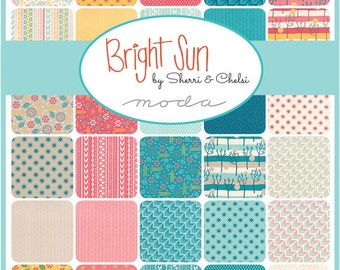 Bright Sun Charm Pack Moda Quilt Fabric