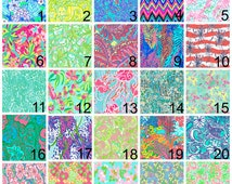 Lilly Pulitzer Patterns Flowers
