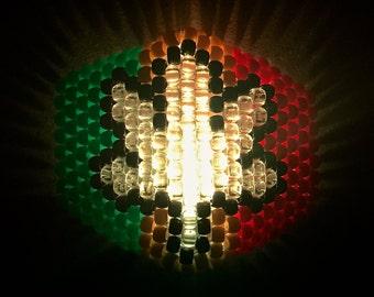 Rasta Weed 420 LED Kandi Mask