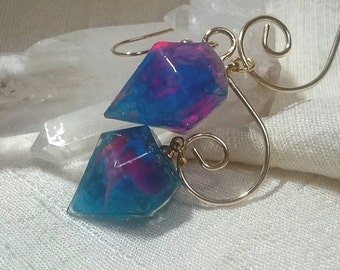 Marble Jewel earrings