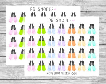 28 Flipper Stickers