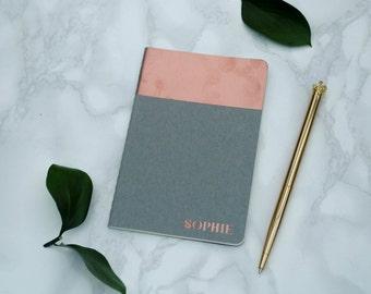 Personalised A6 Moleskine Notebook