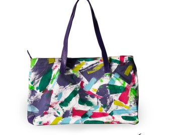 Hand painted Bag by Jossart