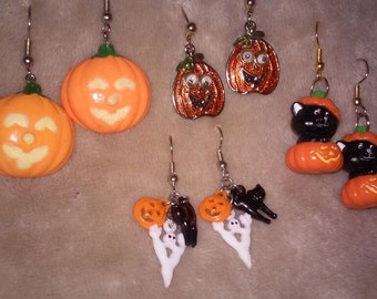 Fashion Halloween Bead Earrings