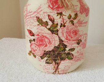 Shabby Chic Decorative Vase