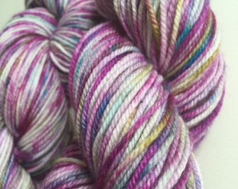 Hand Dyed Sport Weight/5ply Yarn.