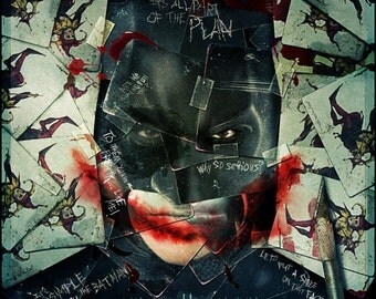Batman The Dark Knight Large A1 Poster
