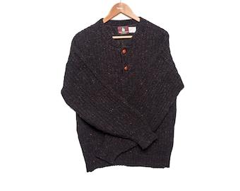 Vintage Dark Brown High Sierra Sweater