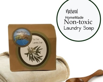 Eco friendly, Safe, Laundry soap - 60 Loads - Homemade, All natural