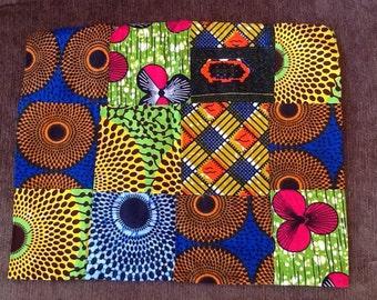 Ankara Pillow Covers, Pillow Case, Ankara African Multi Colored Fabric Pillow Cover