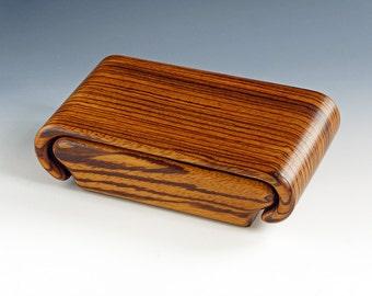 African Zebrawood Box