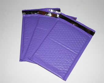 10 6x9 Pastel Purple Bubble Mailers Size 0 Self Sealing Shipping Envelopes Valentine Spring Easter
