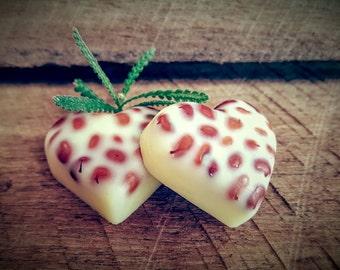 SHEA LOTION - heart bar, cute tin, natural pure, massage bar, lavender essential oils, skin softener, travel tin, olive oil, coconut oil