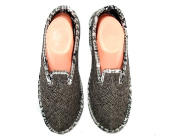 Womens House Slippers, Wool Slippers, Home Slippers, Travel Slippers, Slippers for Women, Warm Slippers, Bedroom Slippers, Shoes US 9,5