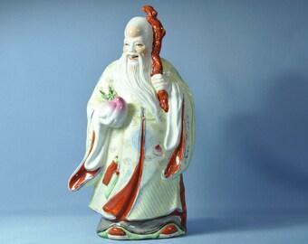 Antique Chinese figurine statue shou star god DSC_00712
