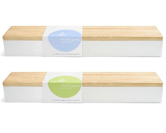 Micro green grow kits indoor garden organic radish for Indoor gardening kit green toys