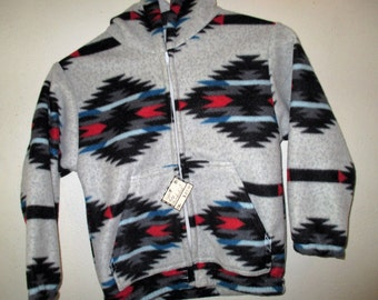 Size 7 Gray Thunderbird Fleece Jacket